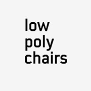 Lowpolychairs